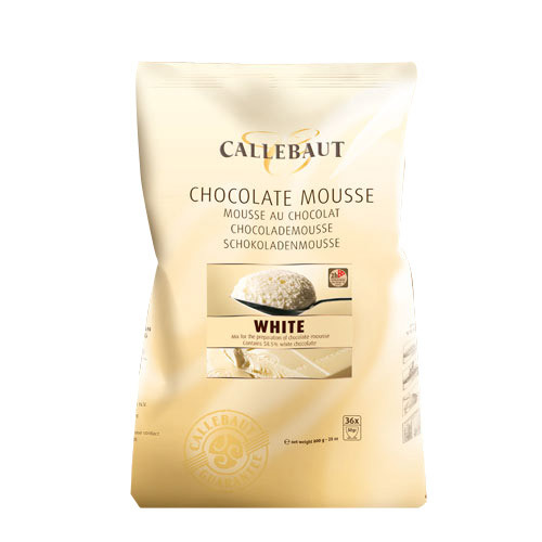 Callebaut Chocolade Mousse -Wit- 800g
