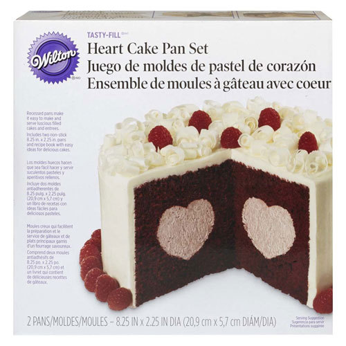Wilton Heart Tasty-Fill Pan Set