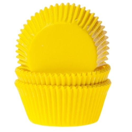 House of Marie Baking cups Geel - pk/50