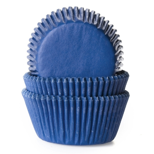 House of Marie Baking cups Jeans Blauw - pk/50