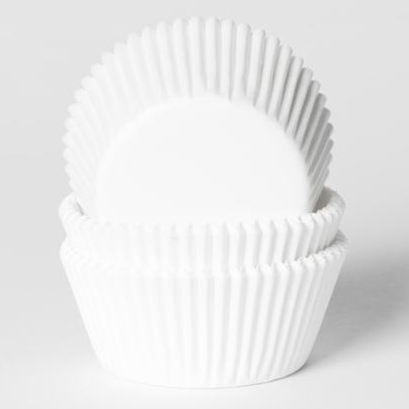 House of Marie Baking cups Wit - pk/500