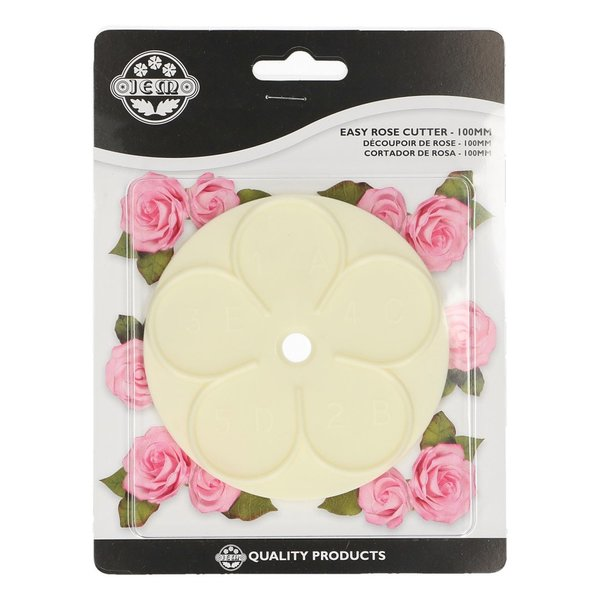 JEM Cutter Easy Rose -100mm-