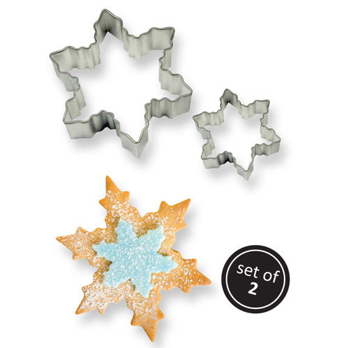 PME Cookie Cutter Snowflake set/2