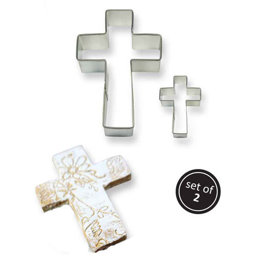 PME Cookie Cutter Cross set/2