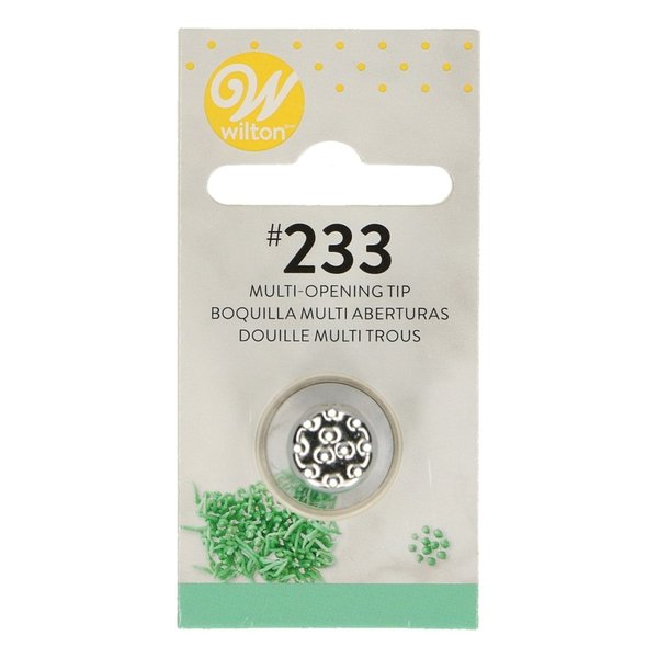 Wilton Decorating Tip #233 Multi-open Carded