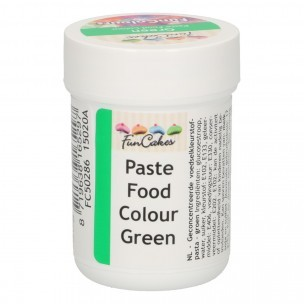 FunCakes FunColours Paste Food Colour - Green 30g