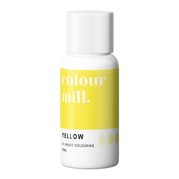 Colour Mill Kleurstof op olie basis Yellow 20ml